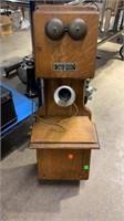 Kellogg Switchboard Oak Wall Phone