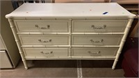 French Provencial Style Bali Hai 6 Drawer