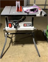 """Porter Cable 10"""" Portable Table Saw; Untested"""