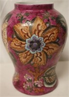 Oriental Vase- Pink