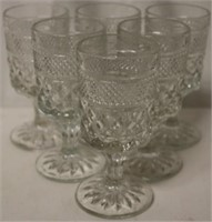 Set of 6 Water Goblets