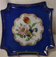 French Poreelain Plate