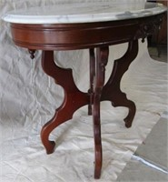 Marble top victorian table