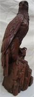 Wooden Eagle Signed