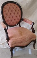 Pink Upholstered Chair