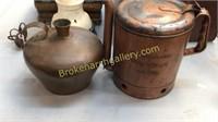 Copper Jug, 5 Quart Liquid Copper Vessel