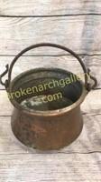 Copper Pot w/ Bail Handle