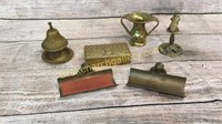 6 Brass Table Articles
