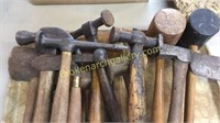 Group Wood Mallets, Hammers