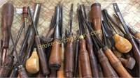 Group Antique Wood Working Tools