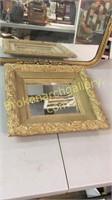 2 Victorian Gilt Framed Mirrors