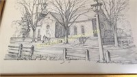 2 Charles Overby Williamsburg VA Pencil Drawings
