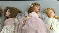 6 Vintage Dolls