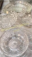 30 Pieces Clear Glass