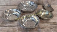 5 Pieces Pewter