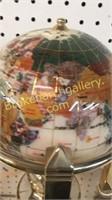 Kalifano Gemstone Table Globe