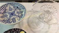 Plates, Cake Stand, Compote
