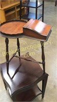 2 Assorted Side Tables
