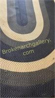 11 x 7.5 Hand Braided rug