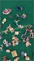 Assorted Pins, Cuff Links, Cuff Buttons