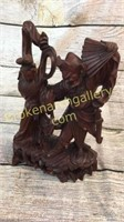 Asian Rosewood Figures