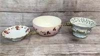 3 pcs Assorted Porcelain