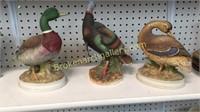 Three Figurines of Birds