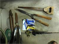 Garden Hose-reel & tools