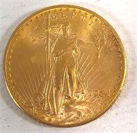 1924 St. Gaudens $20 Gold Coin