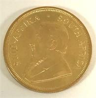 1982 1/4 Krugerrand 1/4 Oz. Fine Gold