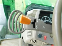 2014 John Deere 6115M, MFW tractor