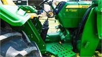 2012 John Deere 5075E tractor, MFW