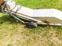 Doyle 45' fertilizer conveyor with a Toshiba
