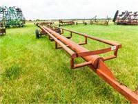 26' round bale hay hauler, single axle