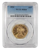 Online Rare Coin & Currency Auction #54