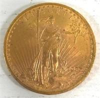 1922 St. Gaudens $20 Gold Coin