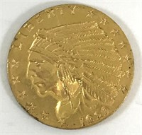 1929 $2 1/2 Gold Indian Head