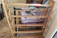 Plywood D V D Rack