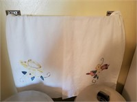 2pc Vintage Hand Towels