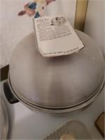 Vintage Aluminium Serving Oven