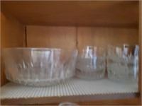 Glass Salad Bowl, Serving Bowls