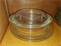 Glass Baking Bowl W/ Lid
