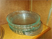 Glass Pie Baking Dishes