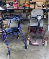 Motorized Little Rascal and Walker