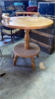 End table and stool