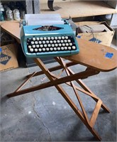 Iron Board and Type Writer