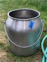 Metal Cream Pot