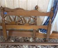 Twin Wagon Wheel Bed