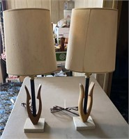 Matching set of lamps