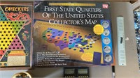 State Quarter Map and games
